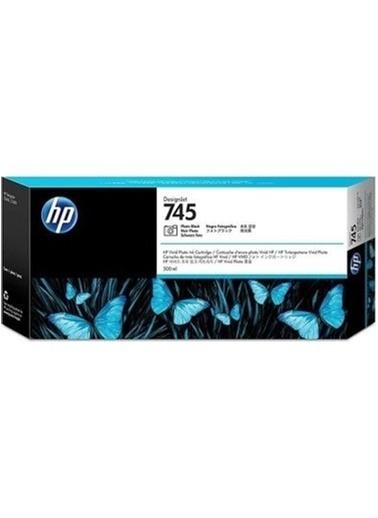 HP 745 Siyah Orijinal Mürekkep Kartuş F9K04A Siyah
